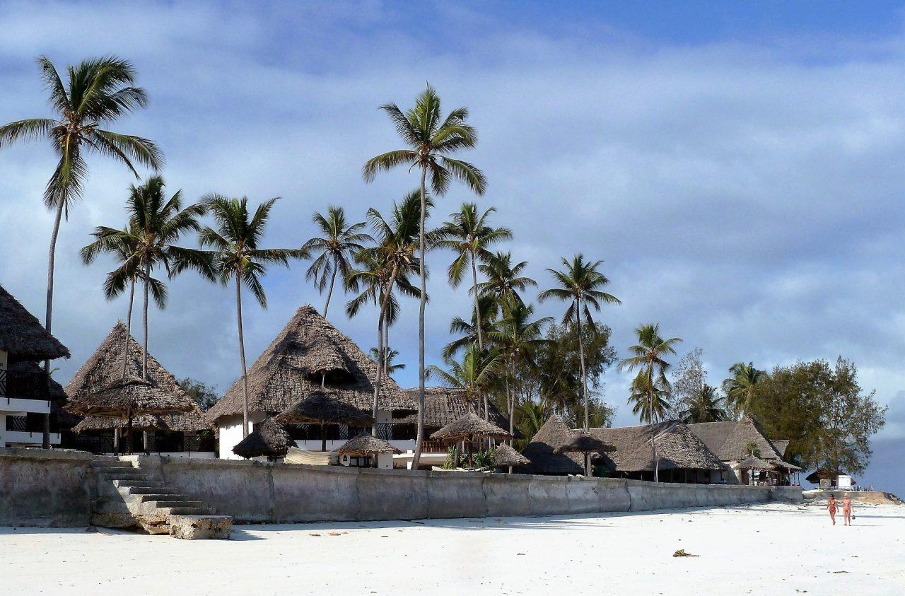hôtel sur la plage